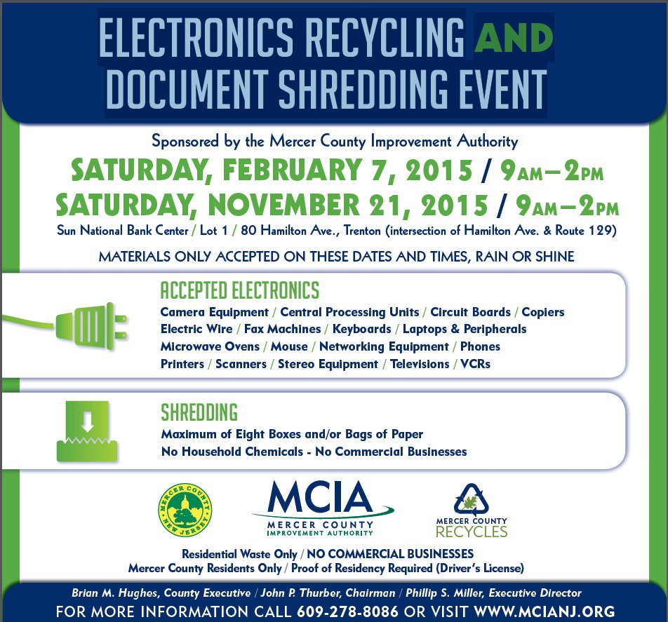 2015s First Electronics Recycling And Document Shredding Event Circuit Board Equipment Machine Mciarecycleshredevent