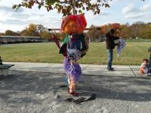 Zombie Pumpkin Head