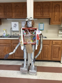 Trashy Tin Man, submitted by the Ewing High School Environmental Club